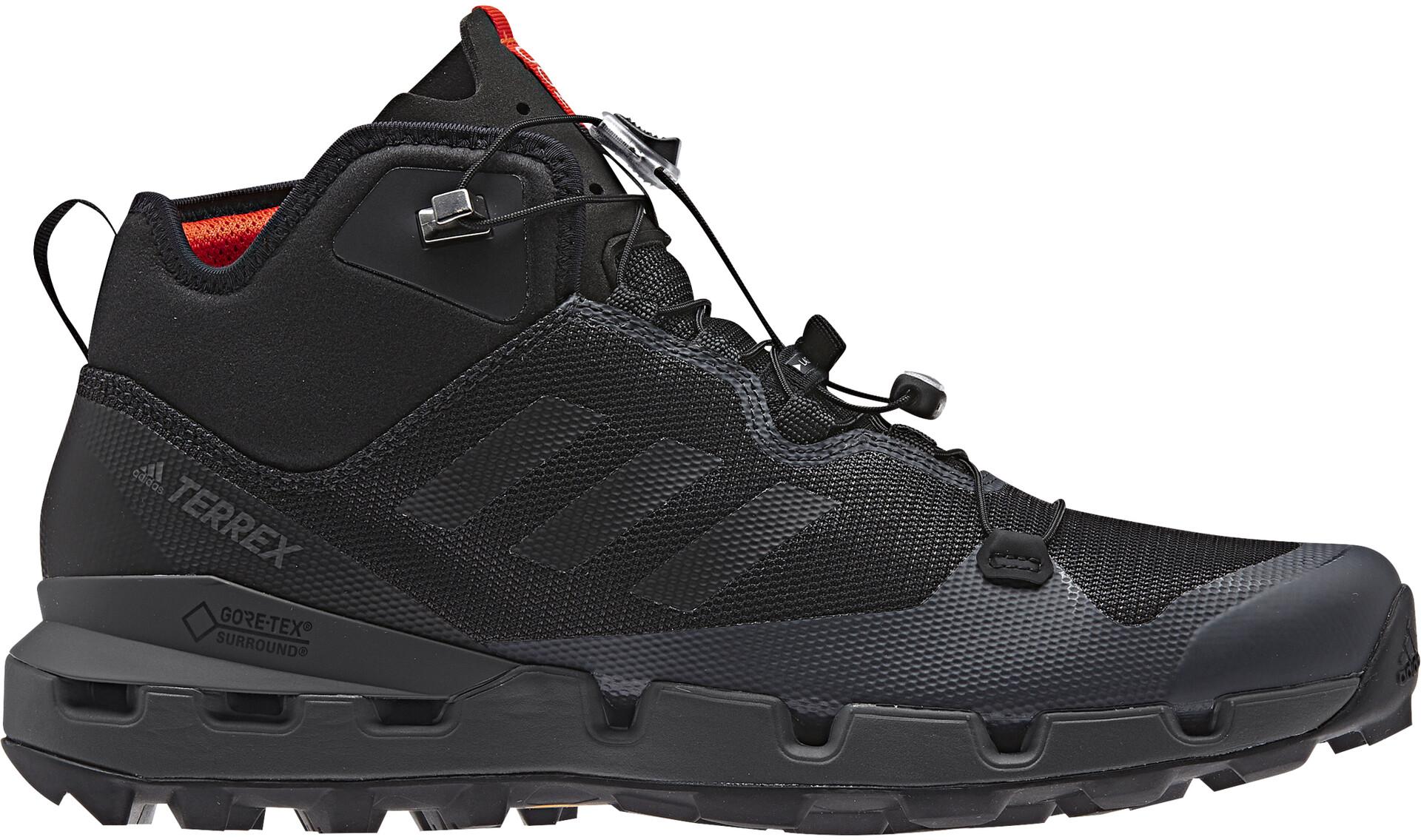 Fast Gtx Mid Sur Adidas Homme Chaussures Noir Surround Terrex kX0wPON8n